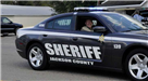 Mike Ezell in His Sheriffs Car