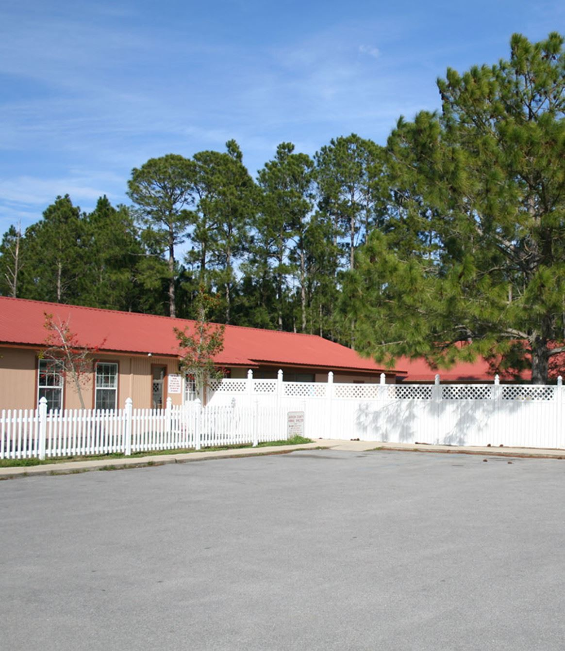 Housing unit and parking lot